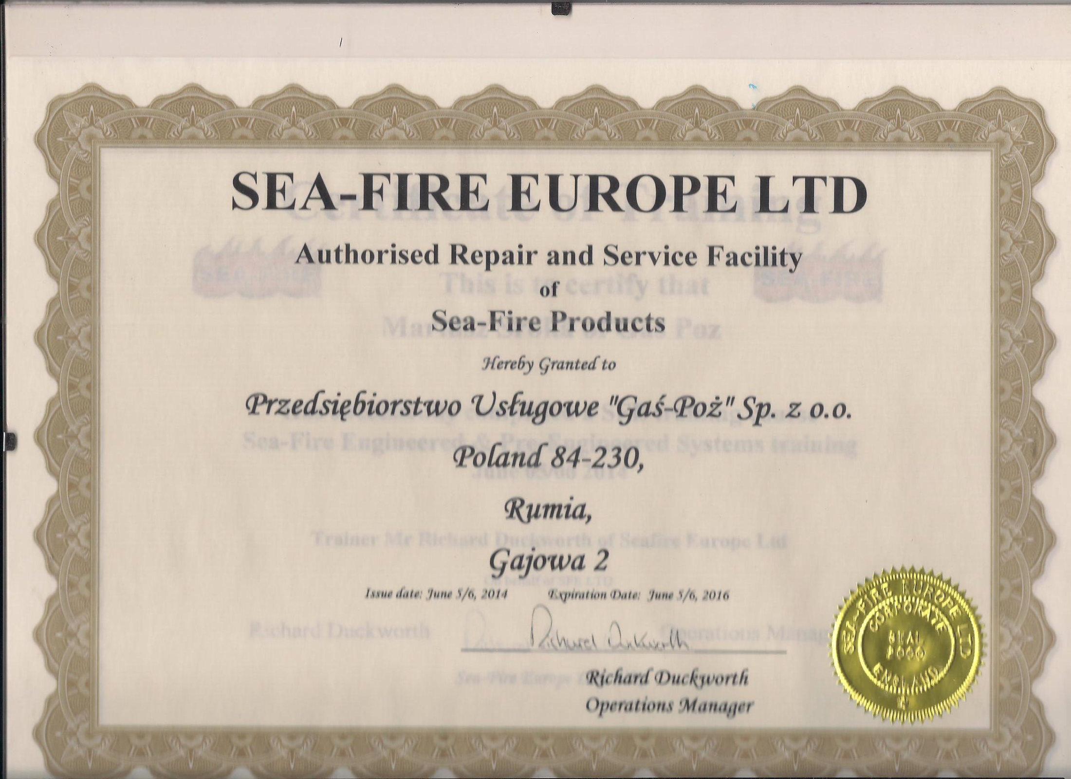SeaFire 2014