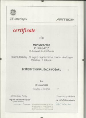 Aritech 2001